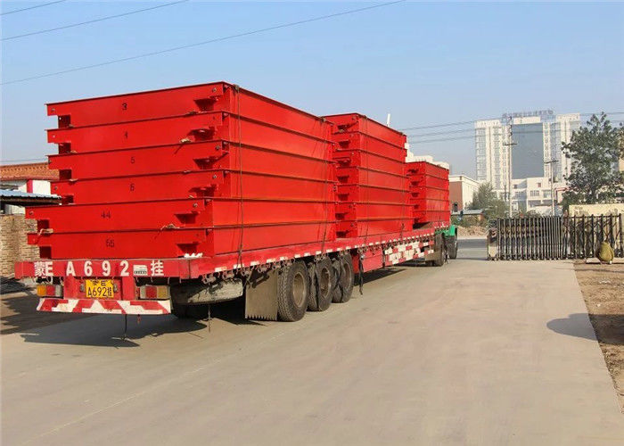 40 Ton Pit Type Weighbridge Color Printing No Overturn During Installation